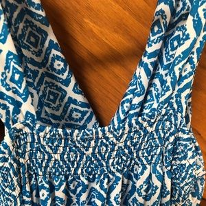 Jon & Anna Dresses - Jon & Anna turquoise blue maxi dress NWOT